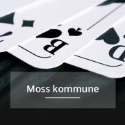 Moss kommune, kommunepoker