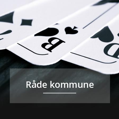 Raade kommune, kommunepoker