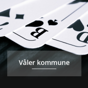 Vaaler kommune, kommunepoker
